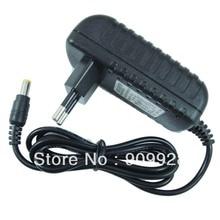 """100 יחידות באיכות גבוהה 2A 12 V AC 100 V 240 V ממיר DC מתאם 12 V 2A ספק כוח של האיחוד האירופי plug 5.5 מ""""מ x 2.1 מ""""מ עבור LED רצועת טלוויזיה במעגל סגור מצלמה"""