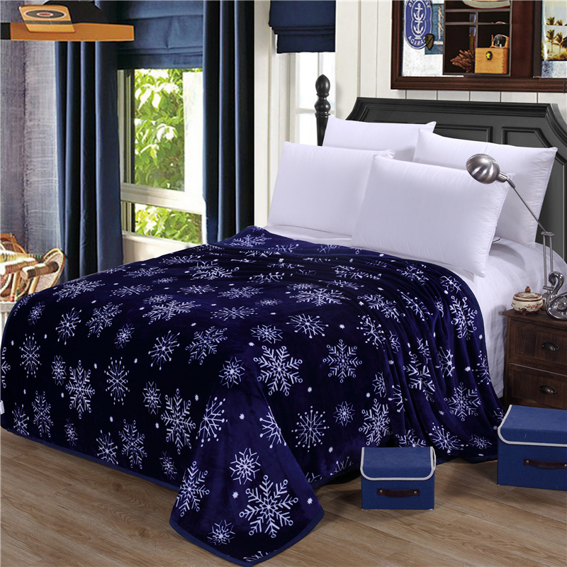 On sale Thick winter Blankets Package edge technology big size bed textile soft blanket for beds Throws blanket on Sofa