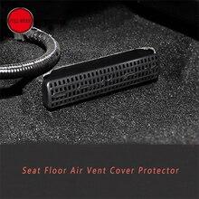 ABS стайлинга автомобилей сиденье пол вентиляционное отверстие крышки антиблокировки для Camry 2018 Outlet защитные отделка протектор аксессуары для интерьера