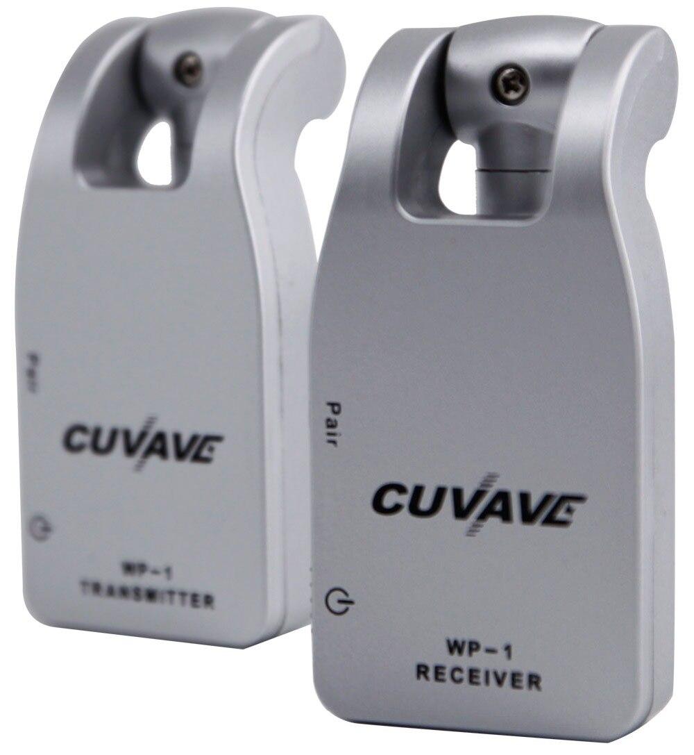 2019 CUVAVE WP-1 2.4G Sans Fil Guitare Système Émetteur et Récepteur Intégré Rechargeable Au Lithium - 2