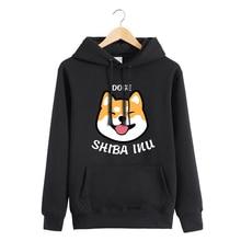 Anime Dog Hoodie Shiba Inu hoodie Jacket Coat Fashion Men Women Sweatshirts