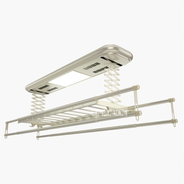 TK-9002 Intelligent Electric Drying Rack Balcony Automatic Remote Control Lifting Telescopic Clothes Drying Machine 220V 121W 1