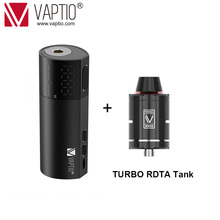 Gift RDA Tank Vaping mod Vaptio Vex 100W TC Box Mod fit 1*21700/20700/18650 battery vs Armour Pro 100W box mod No Battery original eleaf istick pico 21700 tc box mod 100w electronic cigarette vape mod large display 18650 21700 battery fit ello tank page 3