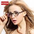 NOSSA Marca Diseñador Corea Del Lente Transparente Gafas de Moda de Las Mujeres Elegantes Marcos de Anteojos de La Miopía Gafas de Montura de gafas de Leopardo