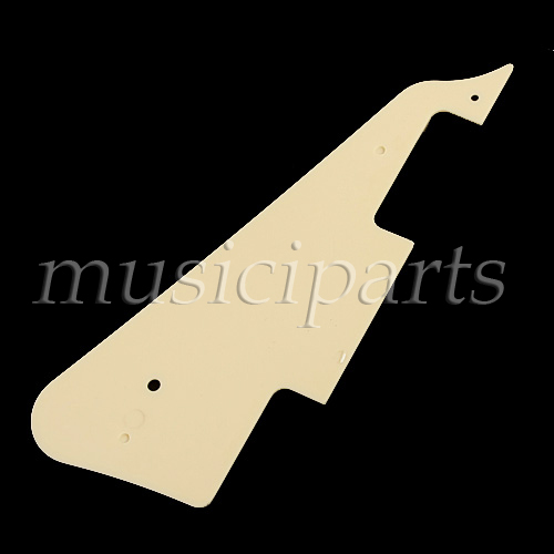 50pc Standard Style Pickguard Cream for Electric Guitar Replacement Parts musiclily 3ply pvc outline pickguard for fenderstrat st guitar custom