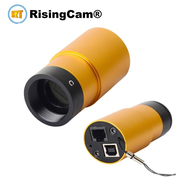Colorful SONY imx224 USB astronomical telescope astronomy camera for Lunar, Planetary, deep-sky and ST4 auto guiding