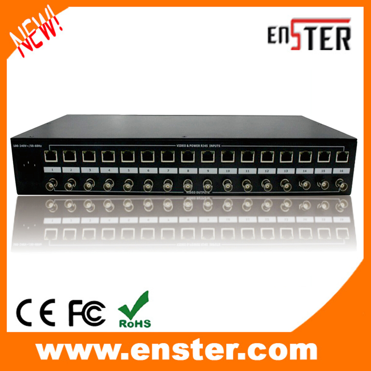 16 Channel Passive CCTV Accessories HD Video Receiver for HDCVI HDTVI AHD CCTV System 36VDC Power