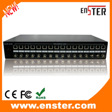 16 Channel Passive CCTV Equipment HD Video Receiver for HDCVI/HDTVI/AHD CCTV System 36VDC Energy Server Hub Video&Energy Provide