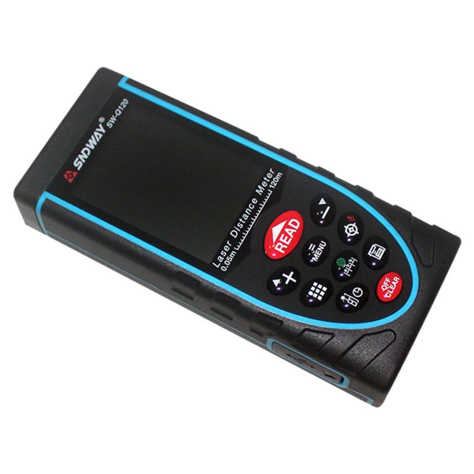 SW-Q80 SW-Q120 80M 120M Original Digital Rangefinder Laser Distance Meter Range Finder Tape Trena Ruler Angle Tool цены