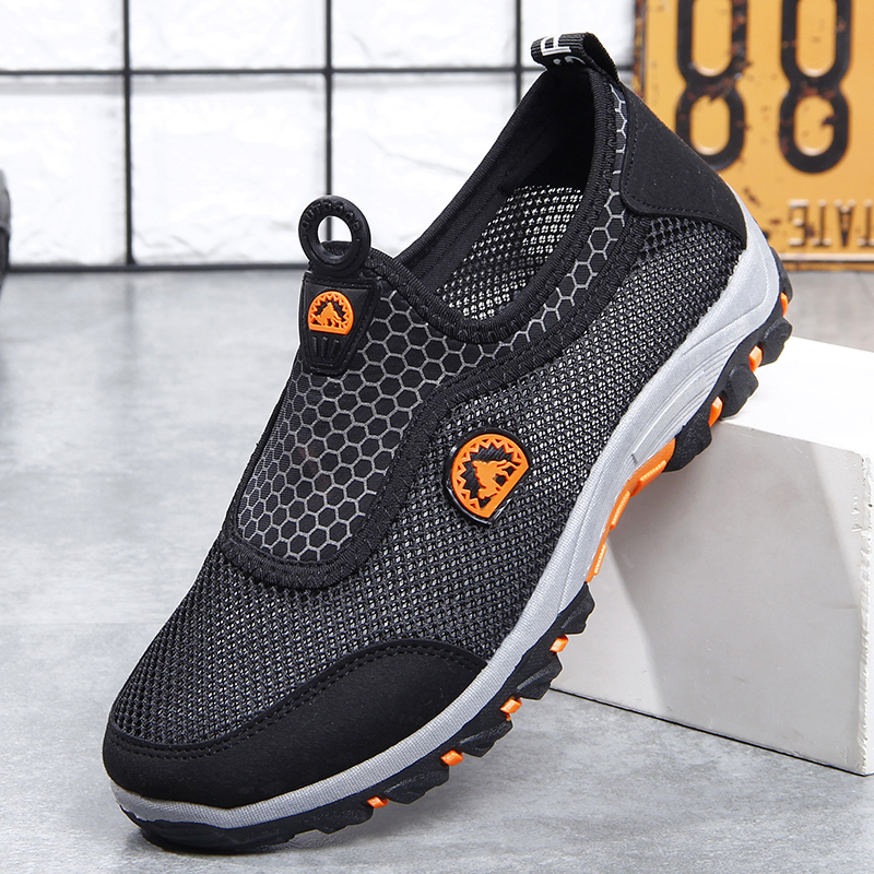HTB1efO9boLrK1Rjy1zbq6AenFXat VESONAL 2019 Summer Slip On Mesh Sneakers Men Shoes Out door Breathable Comfortable Male Shoes Loafers Casual Walking Footwear