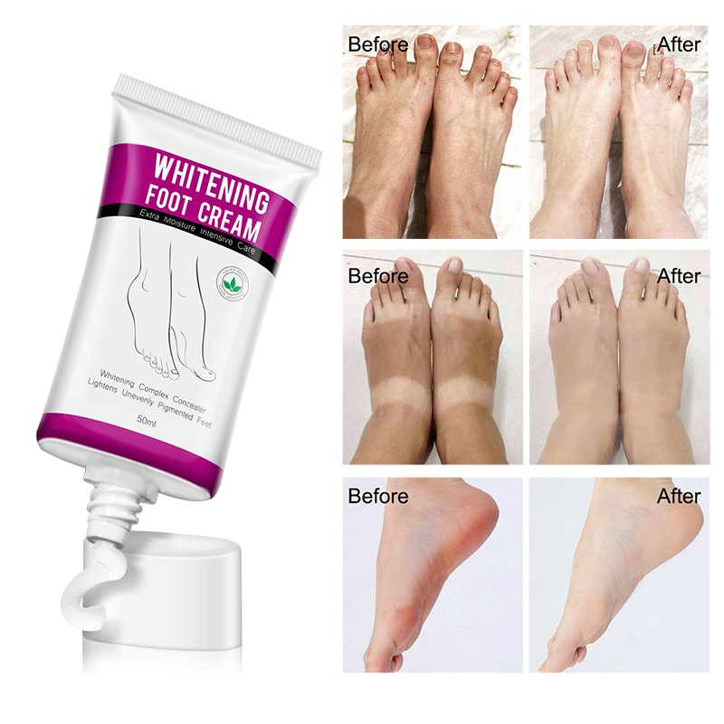50ml Heel Crack Repair Cream Anti Crack Whitening Cream Foot Hand Skin Care