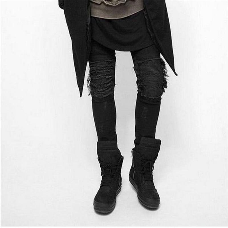 Popular Black Slim Fit Jeans for Men-Buy Cheap Black Slim Fit