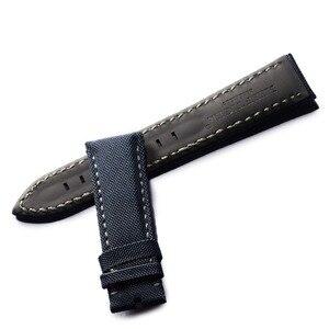Image 2 - サンゴ礁虎/rt最高品質ブラックナイロン革ストラップウォッチ男性ナイロンストラップダイブ腕時計バンド無料ショッピングRGA3035