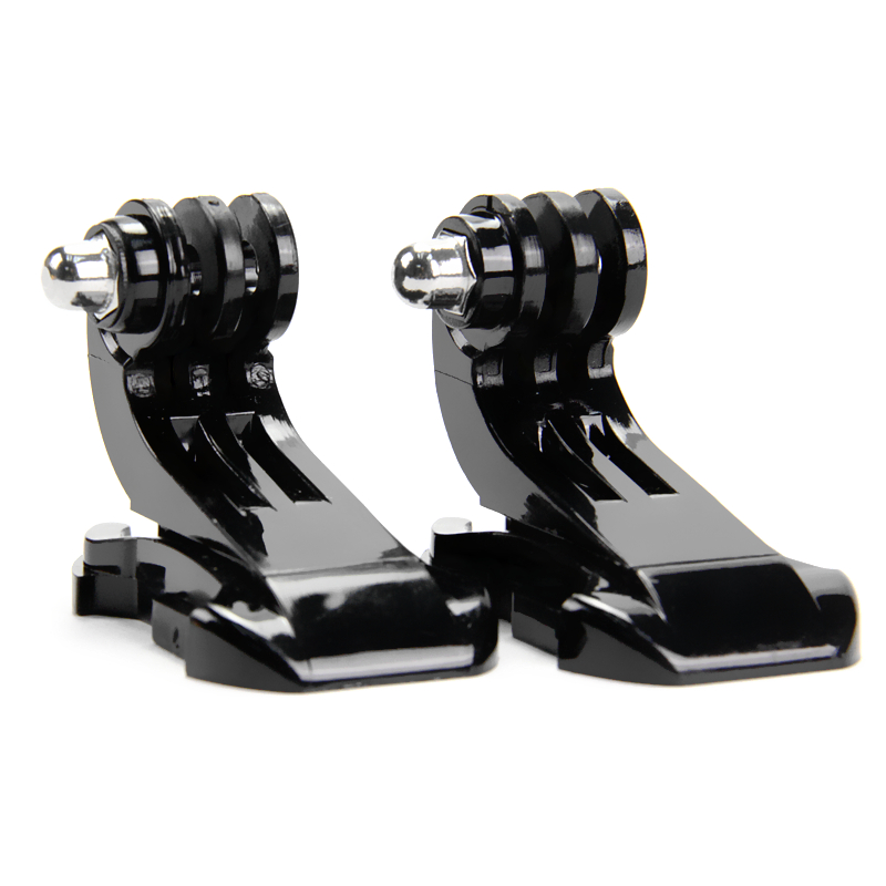 SnowHu sport camera accessories 2PCS J-Hook Buckle Mount for SJCAM for Xiaomi for Yi for Go Pro Hero 7 6 5 4 Action Camera GP20 - ANKUX Tech Co., Ltd