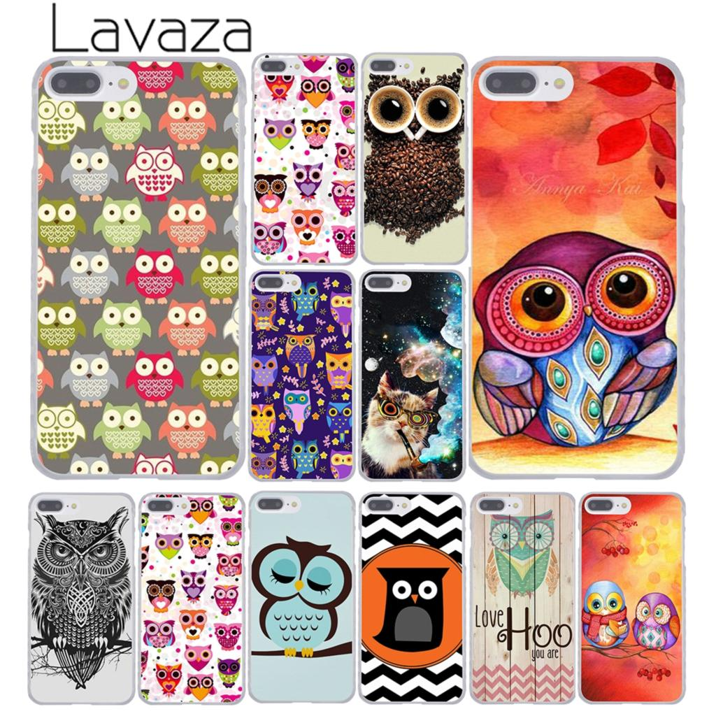 1430947N owl s first fall leaf Style Hard Transparent Phone Cases Cover for iPhone 5 5s 4 4s 6 plus 5c Clear