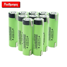 2019 POSTHUMAN 100% New Original High Drain 20A 3400mAh NCR 18650B Rechargeable Battery With DIY Nickel Tabs
