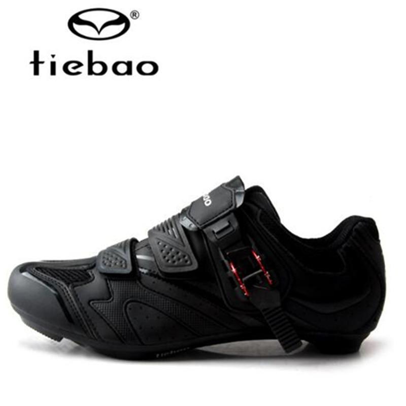 Tiebao Velosiped ayaqqabıları Road Bikes Auto-lock Ayaqqabıları - Velosiped sürün - Fotoqrafiya 2