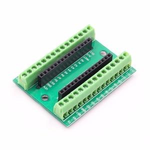Image 4 - NANO V3.0 3.0 Controller Terminal Adapter Expansion Board NANO IO Shield Simple Extension Plate For Arduino AVR ATMEGA328P