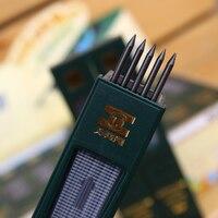 10 pcs/box 2mm 2B HB Black 2.0mm Mechanical Pencil Lead Refill 120mm free shipping Standard Pencils