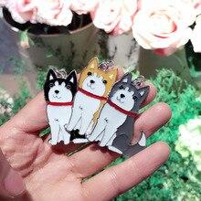 10PCS/LOT Wholesale Women Pet Key Chain Bulldog Corgi Dog Figure Dogs Key Ring Charm Cheap Lovely Keychain Car Keyring Gift