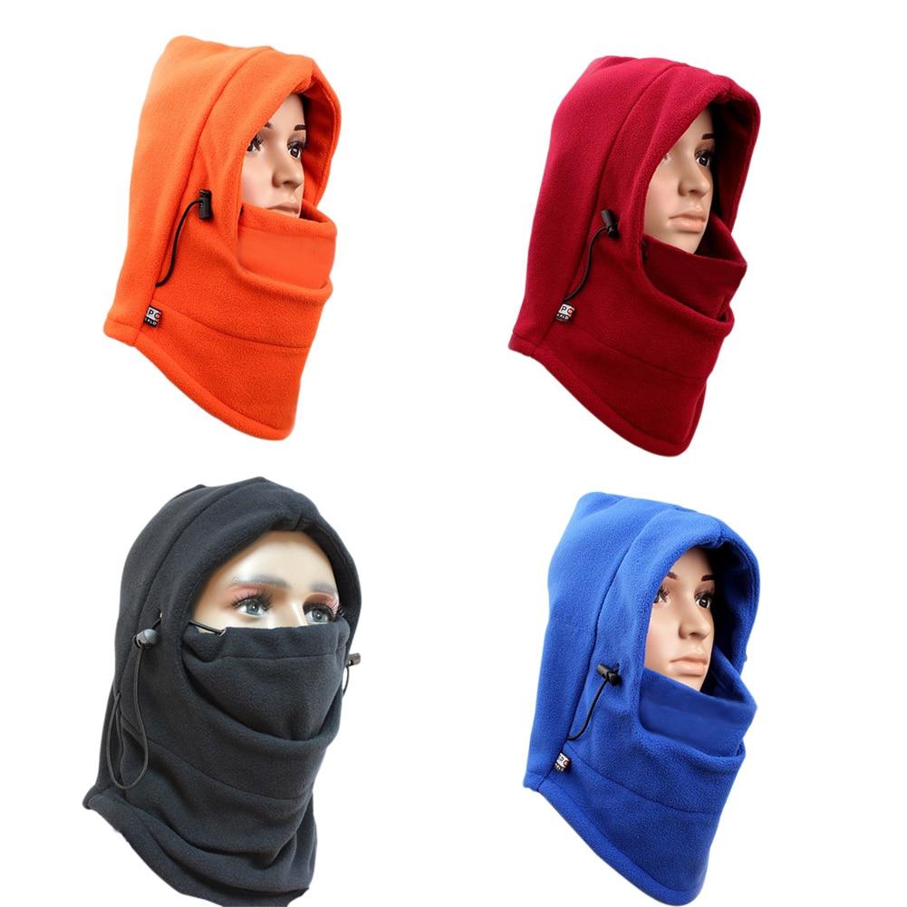 Multi-function Thermal Fleece Balaclava Hood Police Swat Wind Stopper Mask H9