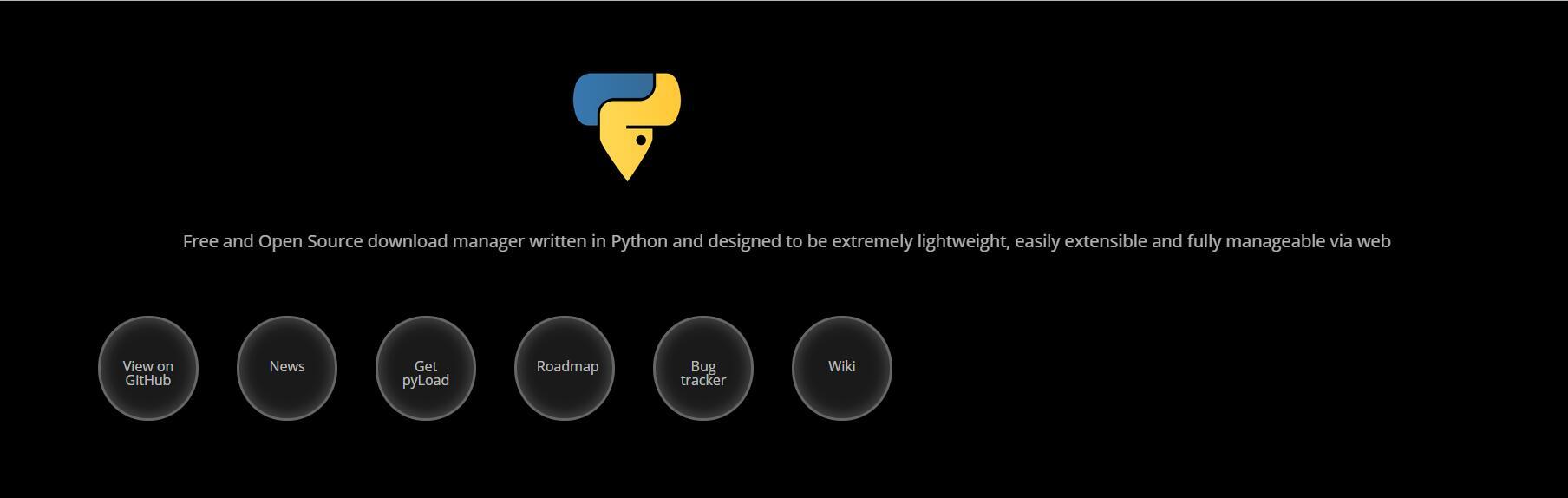 PyLoad:一款开源并且免费带Web面板的多功能下载神器