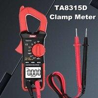 Ta8315d 클램프 미터 멀티 미터 고정밀 자동 범위 전류 클램프 pincers 디지털 전류계 테이블 ac dc 범용 자동