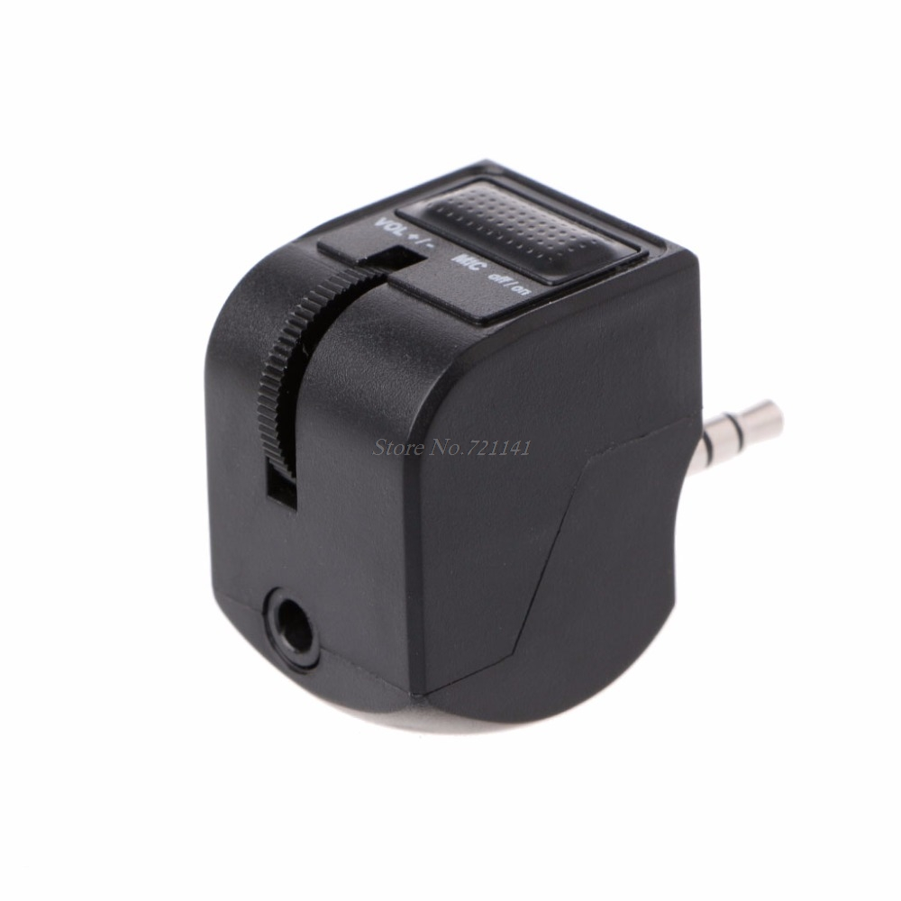 3.5mm Audio Jack Headset Adapter With Mic Volume Control For PlayStation 4 PS4 Electronics Stocks