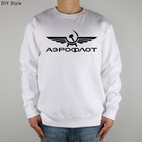 AIRFORCE RUSSIAN RUSSIA CCCP Sweatshirts Thick Combed Cotton