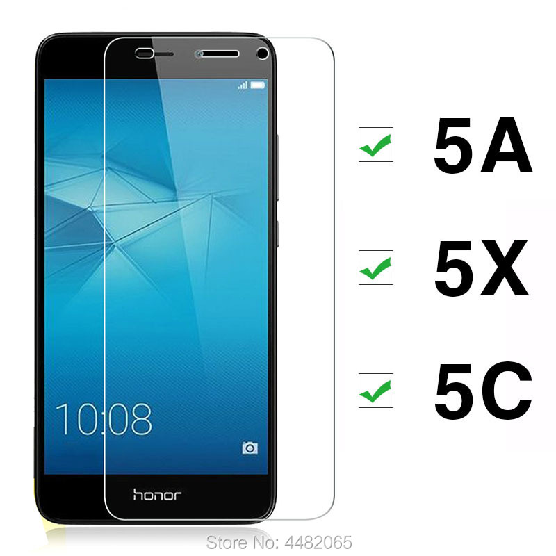 Protective Glass For Honor 5c Glass For Huawei 5x 5a Tempered Glas 5 C X A C5 Film Screen Protector On Honor5c Honor5x Honor5a