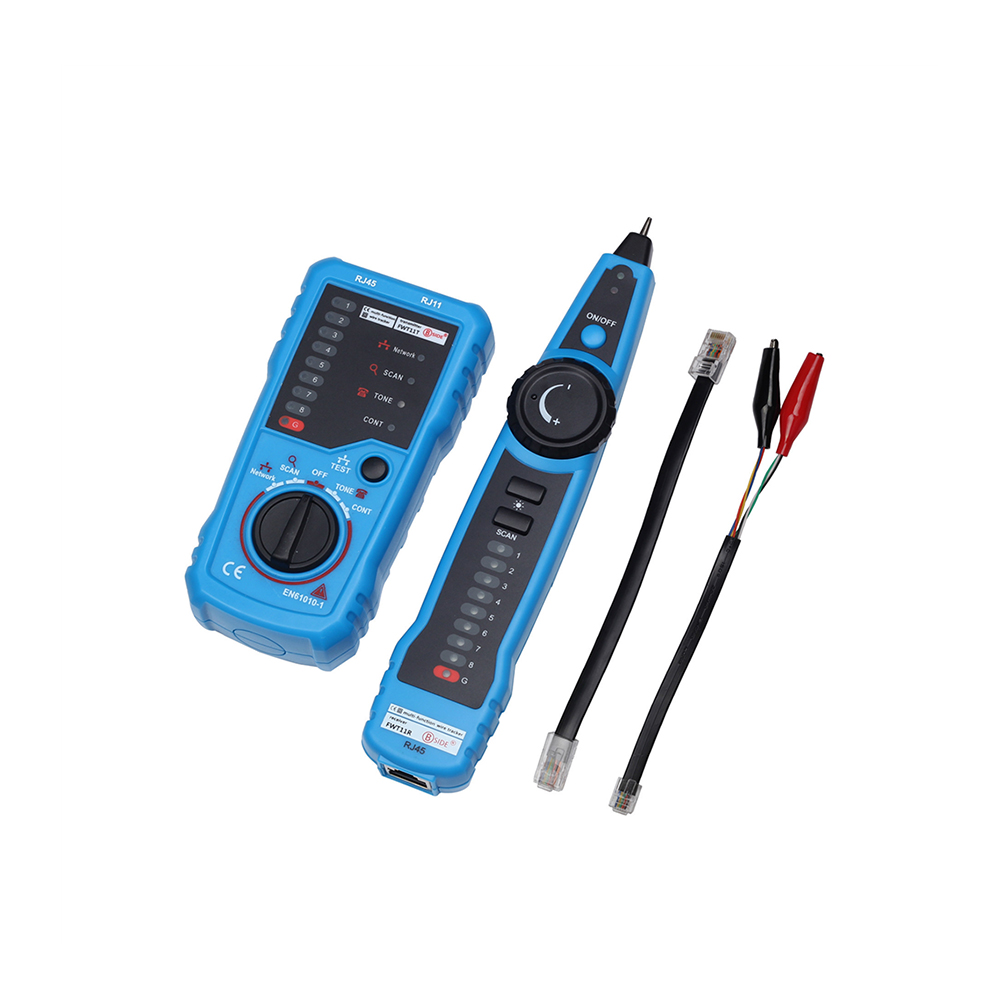 FWT11 High Quality RJ11 RJ45 Cat5 Cat6 Telephone Wire Tracker Tracer Toner Ethernet LAN Network Cable tester Line Finder New
