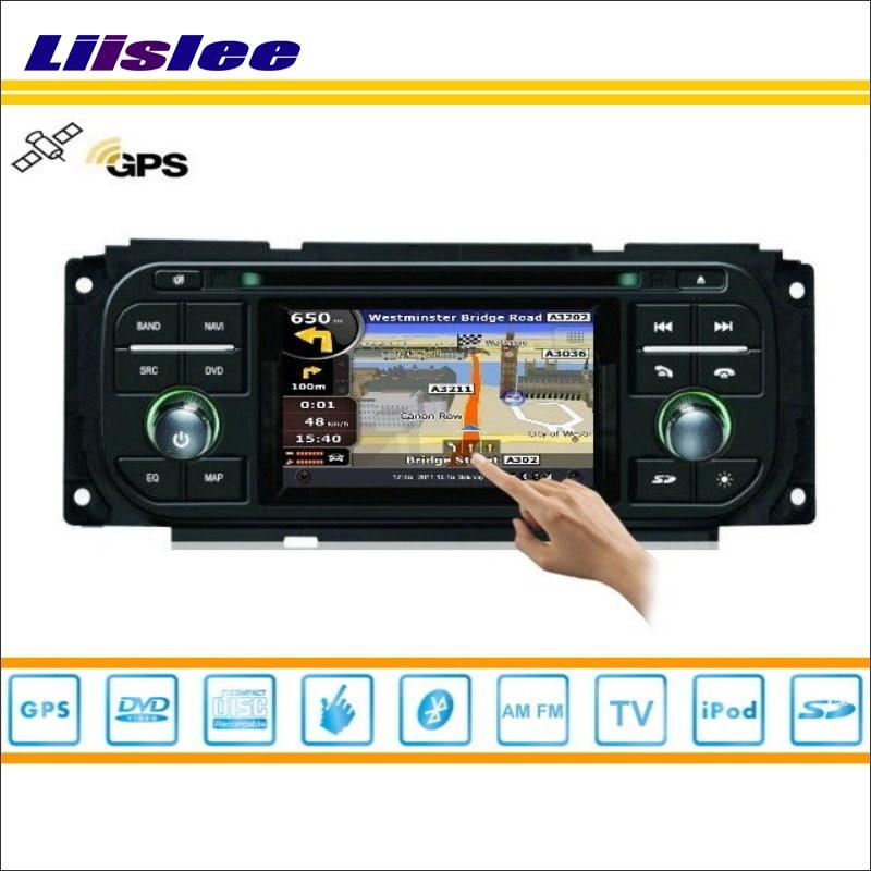 Liislee Car GPS Satellite Nav Navi Navigation Multimedia System For Jeep Liberty 2002 2007 Radio CD
