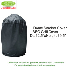 Free shipping Dome smoker cover, BBQ covers 32.5″x29.5″ ,BBQ grill protective cover,