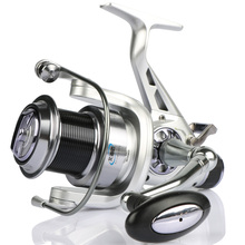 Goture Sea Spinning Fishing Reel Long Casting Double Brakes System Metal Reel Size 5000 6000