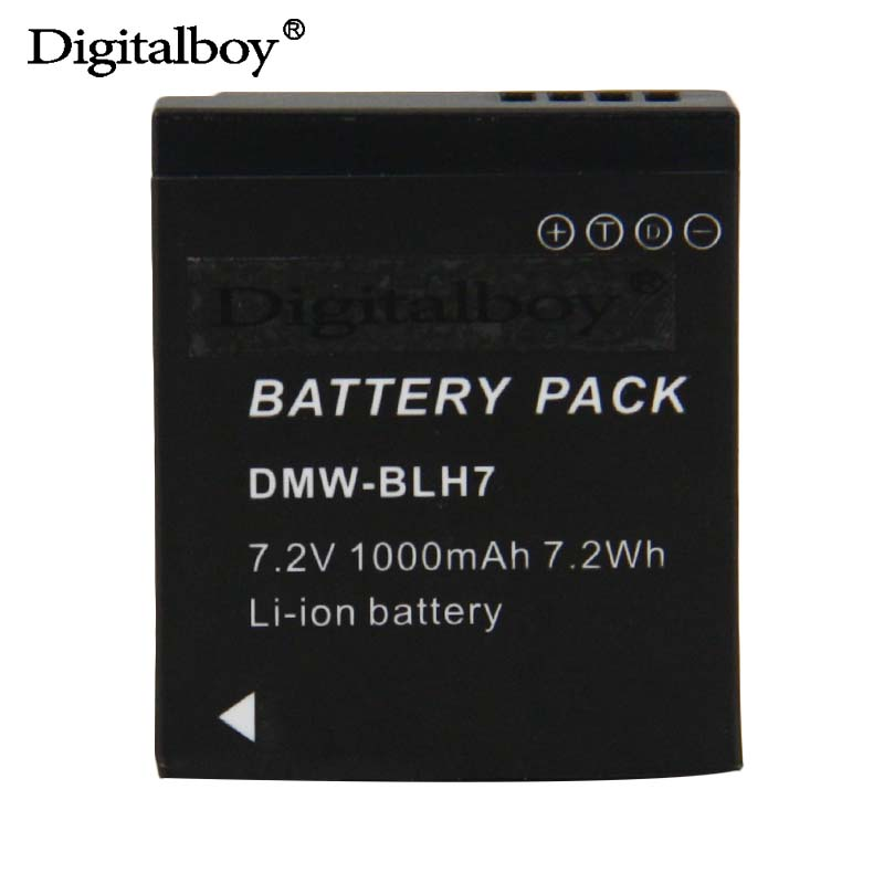 1 Pcs DMW-BLH7 BLH7PP BLH7E Rechargeable Battery For Panasonic Lumix DMC-GM1 GM1 DMC-GM5 GM5 DMC-GF7 GF7 DMC-GF8 GF8 LX10 LX15