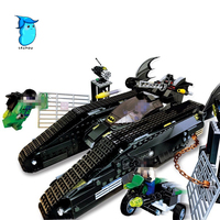 MOC Lepin 07067 673 sztuk Super heroes Serii Bat Zbiornik Dzieci Edukacyjne Klocki Klocki Zabawki Modelu Prezenty dla chłopcy