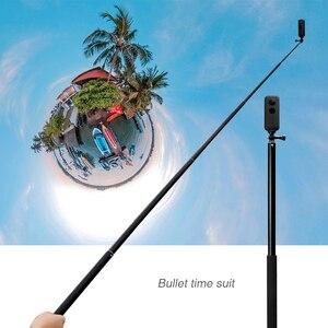 Image 3 - 3อลูมิเนียมอลูมิเนียมอลูมิเนียมMonopod Selfie StickสำหรับInsta360 One X/X2/DJI OSMO Action/กระเป๋า/gopro Hero 7 6 5กล้องSjcamอุปกรณ์เสริม