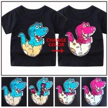 Kids Baby Boys T Shirt Cartoon Dinosaur Outwear 2-12 Year