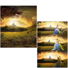 Vinyl Backdrops For Photography Cinderella Castle Scenic Forest Oxford Photo Background For studio Wedding Lover 10x16ft wedding room seamless vinyl photography backdrops computer printed cm5269 golden castle background for photo studio