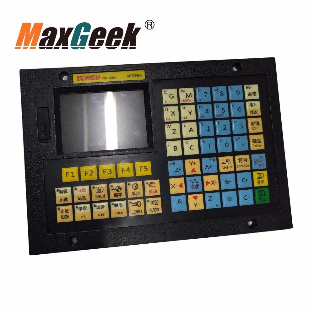 1/2/3/5/6 eixo Controlador CNC Sistema De Controle CNC para Várias Máquinas XC609MF Multi funcional instrução G 32 Bit