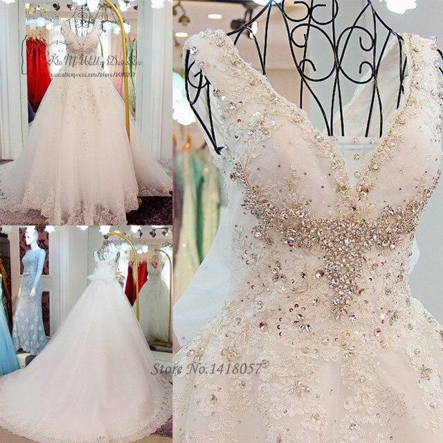 Vestido de Noiva Princesa Luxo Abito Da Sposa Strass Hochzeit ...