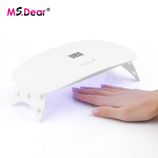 White Manicure Table With Uv Light | Splendid Wedding Company