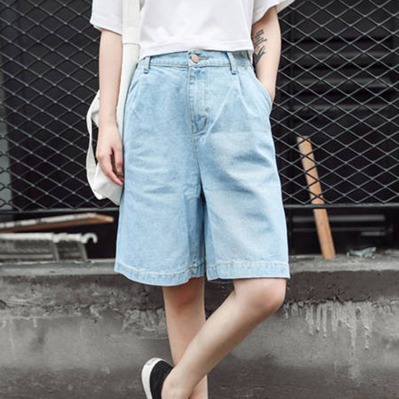 2016 SUMMER STYLE BOYFRIENDS FIT HIGH WAIST RELEXED DENIM SHORT JEANS SEXY WOMENS - CHRISTINA'S SHOP store