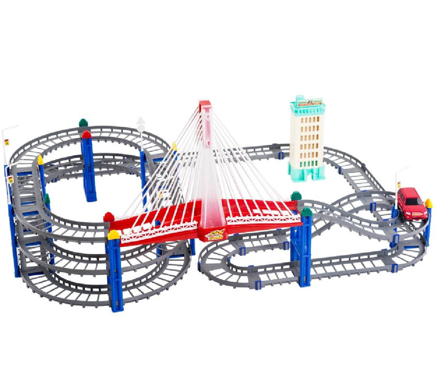 aliexpresscom buy free shipping electric racing car orbit thomas train track slot set toy for children pro from reliable car shaped birthday cakes