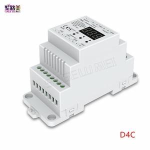 Image 2 - DC5V 12v 24v 36v 4CH pwm定電圧/定電流cc cv dmxデコーダDMX512 led rgb rgbw ledテープランプ