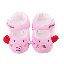 Newborn Baby Infant First Walker Little elephant princess shoes Soft bottom Cotton Shoes  Baby Toddler Shoes for 0-18M