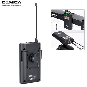 Image 3 - Comica CVM WM100 H UHF 48 Channels Wireless Handheld Microphone System Kit for Canon Nikon DSLR Cameras and Smartphones etc.