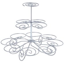 Cupcake Stand Tier Round Stacked Party For Birthdays Weddings Showers And Parties Creative Home Clear Display Holder Tree