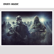 Home Wall Canvas Painting Rainbow Six Siege Panel Wall Art Canvas Painting Print Oil  Wall Decor Modern Art Oil Painting Siege