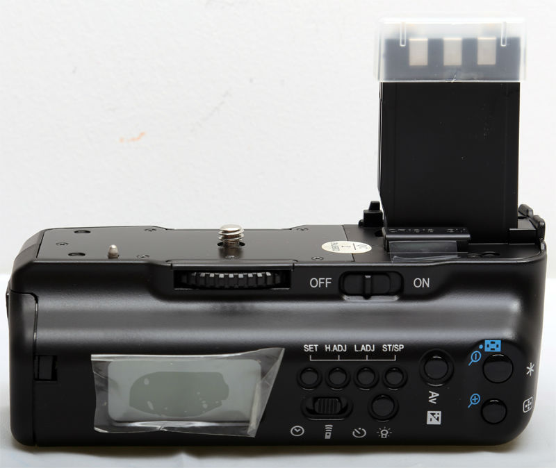 С ЖК-вертикальный Батарейная ручка для Canon DSLR Камера BG-E3 350D 400D Rebel XT XTI b1a Бесплатная доставка
